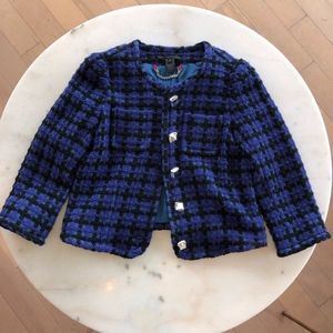 Marc by Marc Jacobs Tweed Jacket - Size 6